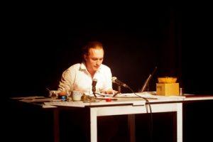 Yuri Akbalkan performs Ursonate by Kurt Schwitters